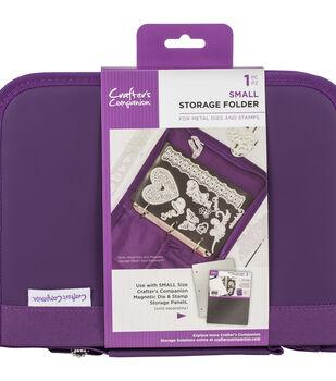 Crafter's Companion Stamp & Die Storage Folder-Small, Purple