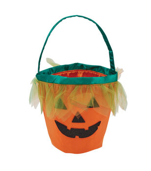 Maker's Halloween Pumpkin Trick or Treat Bag