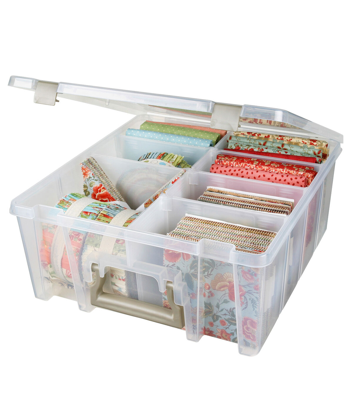 ArtBin Double Deep Box with Removable Dividers  sc 1 st  Joann & Plastic Storage - Plastic Drawers Bins and Boxes | JOANN