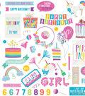 Cake Rainbow Sprinkles Stickers 12\u0022X12\u0022-Elements