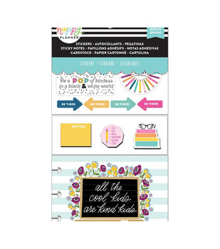Happy Planner Note Cards/Sticky Note Multi Pack-Kind Kid (student)