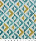 Solarium Outdoor Decor Fabric 54\u0027\u0027-Turquoise Tropez