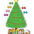 Big Christmas Tree Bulletin Board Set, 2 Sets