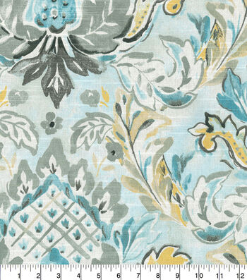 Kelly Ripa Home Upholstery Swatch 13''x13''-Pool Flying Colors