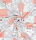 Nursery 3D Patchwork Fabric -Whimsy