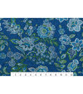 Speciality Cotton Fabric 42\u0022-Floral & Paisley