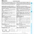 Butterick Pattern B6424 Misses\u0027 Ponchos, Top, Skirt & Pants-Size 14-22