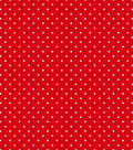 Tutti Fruitti Collection-Small Polka Dot Red & White