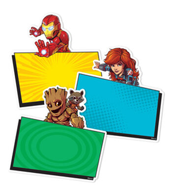 Eureka Paper Cut-Outs-Marvel Super Heros