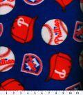 Philadelphia Phillies Fleece Fabric -Tossed
