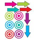 Die Cut Magnets, Targets and Arrows, Set of 6pks