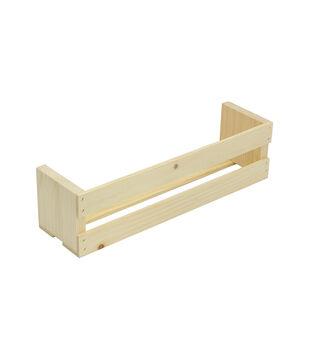 Wood Ledge Shelf