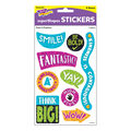 Color Harmony Paint It Positive superShapes Stickers-Large 6 Packs