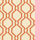 P/K Lifestyles Multi-Purpose Decor Fabric 54\u0022-Laneway/Persimmon