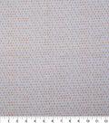 Keepsake Calico Cotton Fabric-Peach Shaded Dots