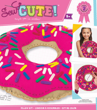 Sew Cute! Felt Doughnut Pillow Kit