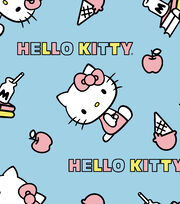 Sanrio Hello Kitty Fleece Fabric-Tossed Ice Creams, , hi-res