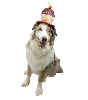 Maker's Halloween Pet Accessory-Cupcake Hat Large/X-Large
