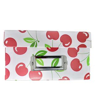 Photo Storage Box-Cherry