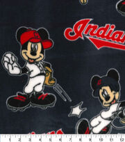 Cleveland Indians Fleece Fabric-Mickey, , hi-res