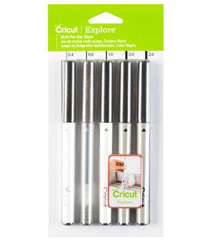 Cricut Explore Variety Pen Set Black