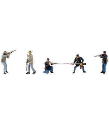 Scene Setters(R) Figurines-American Civil War Soldiers 5/Pkg