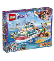 LEGO Friends 41381 Rescue Mission Boat, , hi-res