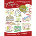 Stitcher\u0027s Revolution Iron-On Transfers-Spice Of Life