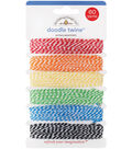Doodle Twine Assortment Pack-Primary