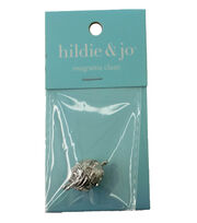 hildie & jo Swirled Silver Magnetic Clasp with Crystal, , hi-res