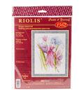 RIOLIS 6\u0027\u0027x7.75\u0027\u0027 Counted Cross Stitch Kit-Spring Breeze Fairy