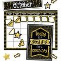 Sparkle & Shine Calendar Bulletin Board Set