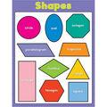 Carson-Dellosa Shapes Basic Chart 6pk