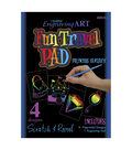 Royal Brush 5\u0022x5\u0022 Engraving Art Kits-4PK/Princess Fantasy