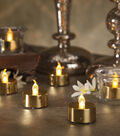 Hudson 43 6pc Set Metallic Tealight-Gold