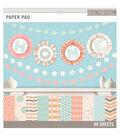 K&Company Basics Paper Pad Pastels 12\u0027\u0027x12\u0027\u0027