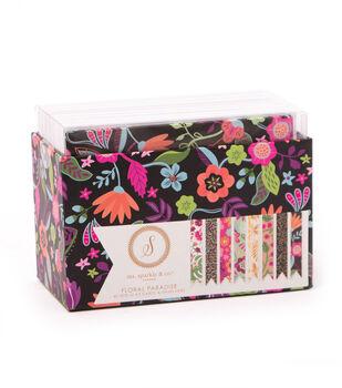 Ms. Sparkle & Co. Pack of 40 A2 Cards & Envelopes-Floral Paradise