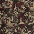 Halloween Cotton Fabric-Las Elegantes Halloween