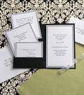 Wilton Elegance Invitation Kit-Black & White??