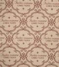 Home Decor 8\u0022x8\u0022 Fabric Swatch-Jaclyn Smith Isle Brick