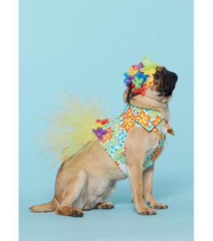 McCall's Pattern M7584 Kids' Gathered Top & Skirt & Dog Costumes