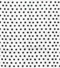 Snuggle Flannel Fabric 42\u0022-Smudged Dots Black