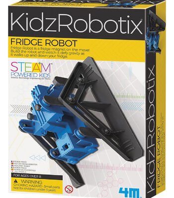 4M KidzRobotix Fridge Robot Building Kit