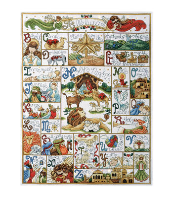 Design Works Counted Cross Stitch Kit Oh Holy Night