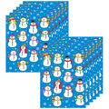 Carson Dellosa Snowmen Shape Stickers, 84 Per Pack, 12 Packs