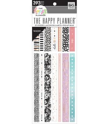 The Happy Planner Washi Sticker Book-Pastels