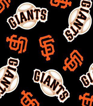 San Francisco Giants Fleece Fabric 58  -Tossed 5082cc19a
