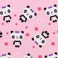 Snuggle Flannel Fabric -Pretty Pandas