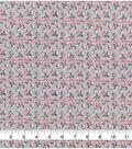 Keepsake Calico Cotton Fabric 43\u0022-Floral Gray