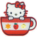 Hello Kitty Patches Tea Cup